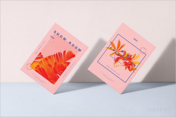 Postcard Flyers Template