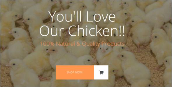 Poultry Farm Opencart Theme