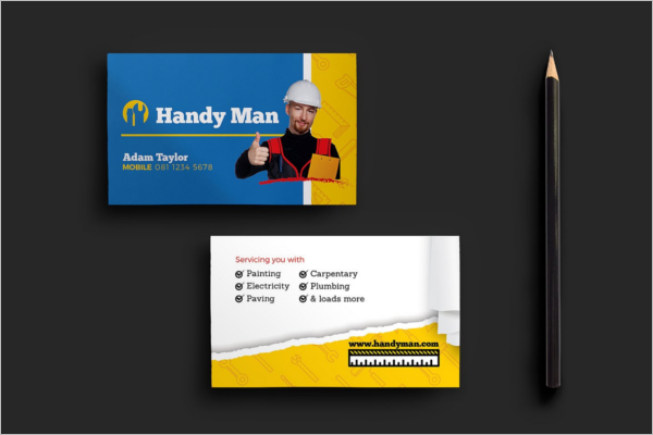 Handyman business cards gallery business card template 27 handyman business cards templates free ideas premium handyman business card colourmoves accmission Gallery