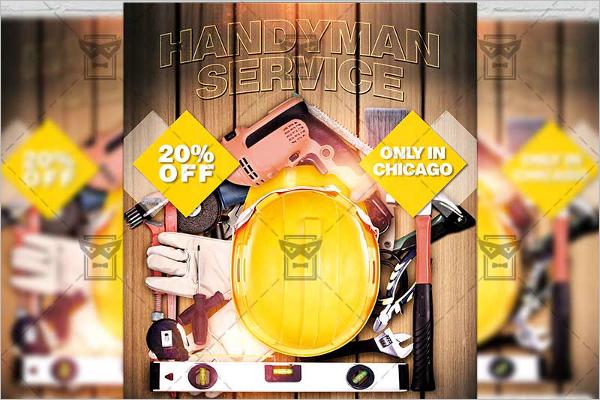 Premium Handyman Service Flyer