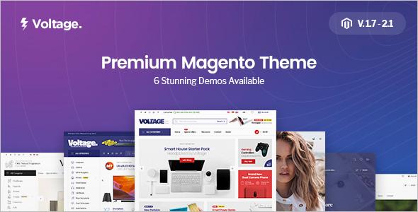 Premium Megento Template