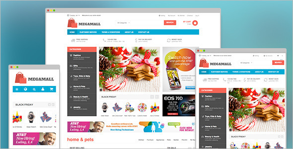 Premium Security Magento Template