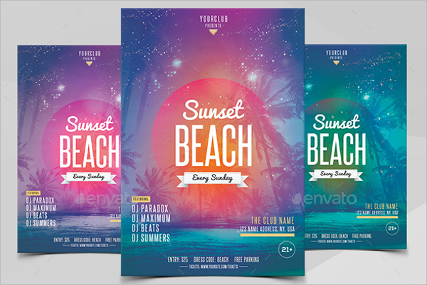 Printable Flyer Template