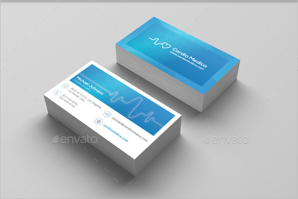 Printable Medical Business Card Template