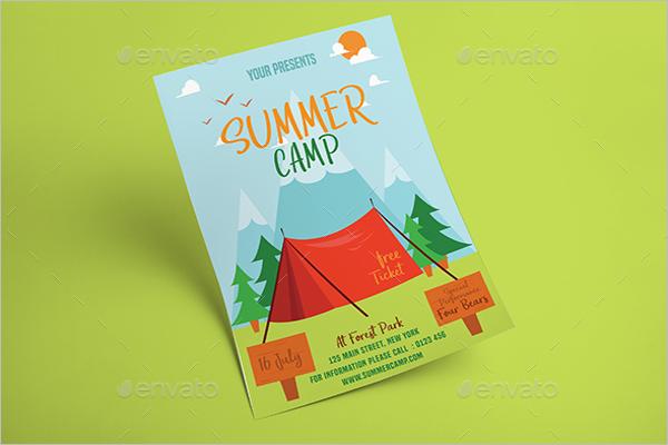 50 best summer camp flyer templates