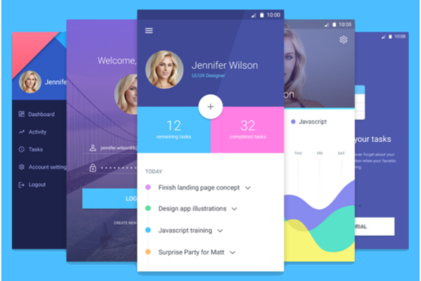 Printable User Interface Designs
