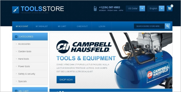 Professional Industrial Magento Theme