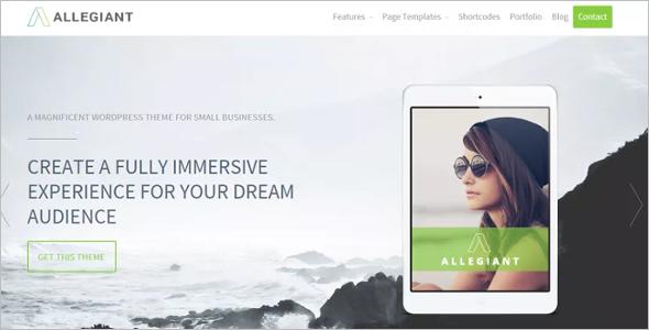 Professional Multipurpose Website Theme
