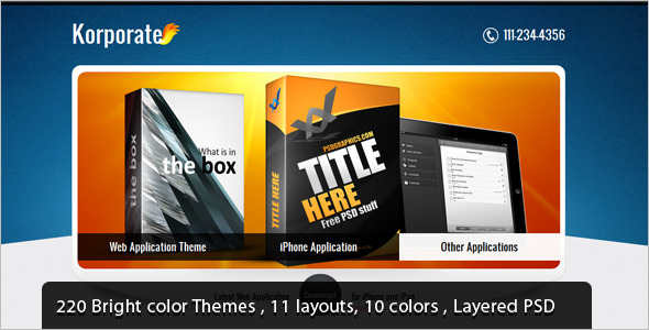 Professional jQuery Landing Page Effect