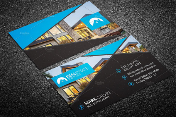 Realistic Real Estate Business Card