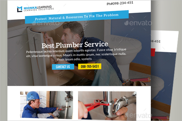 Repair Work Flyer Template