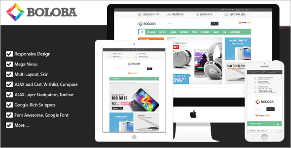 Responsive Digital Magento Theme