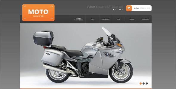 Responsive Moto Store Magento Theme