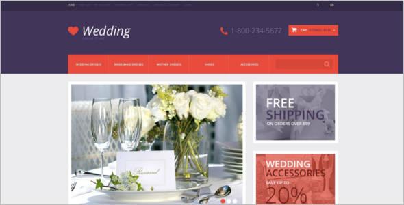 Responsive Wedding Opencart Theme
