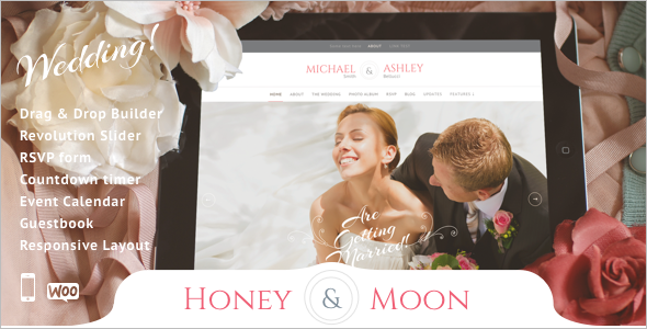 Responsive Wedding WooCommerce Theme
