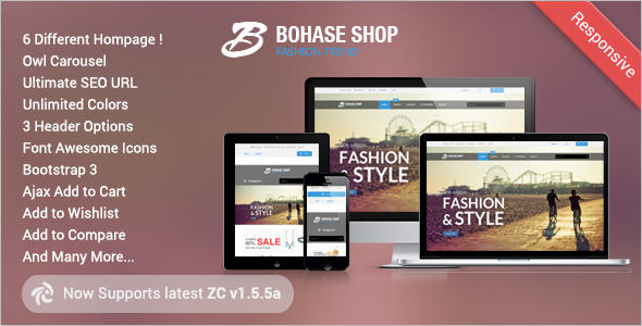 Best mobile zencart themes free premium templates for Free responsive zen cart templates