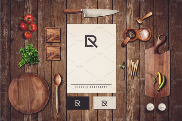 Restaurant Business Mockup