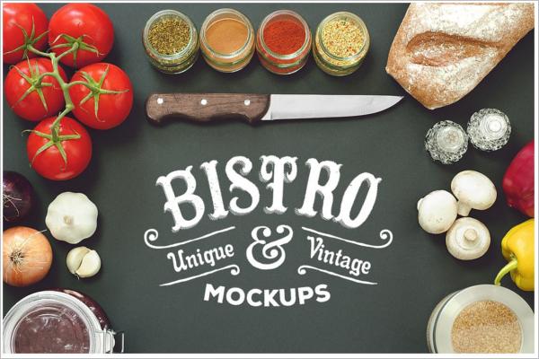 Restaurant Product Mockup