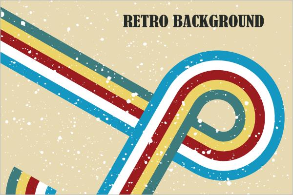 Retro Background Vector Art