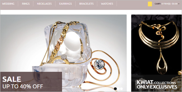 Royal Jewelry OpenCart Template