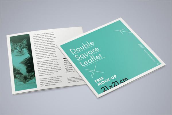 Sample Brochure Mockup Template