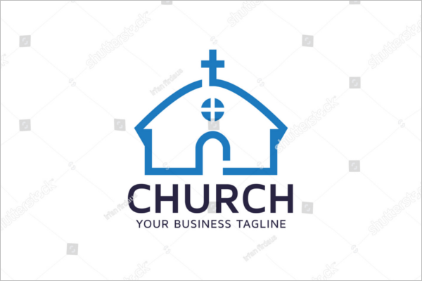 Sample Church Business Card Template