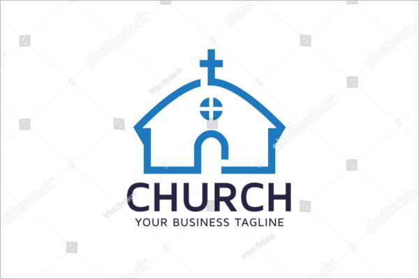 Sample Church Business Card Template
