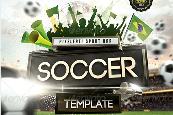 Saturday Soccer Flyer Design