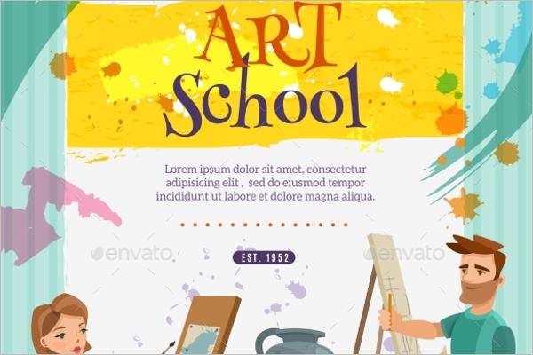 School Art Class Poster