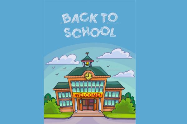 School-Building-Poster