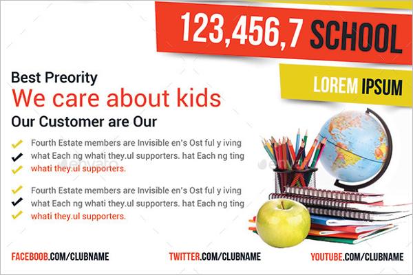 School Education Flyer Design
