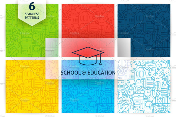 School& Education poster