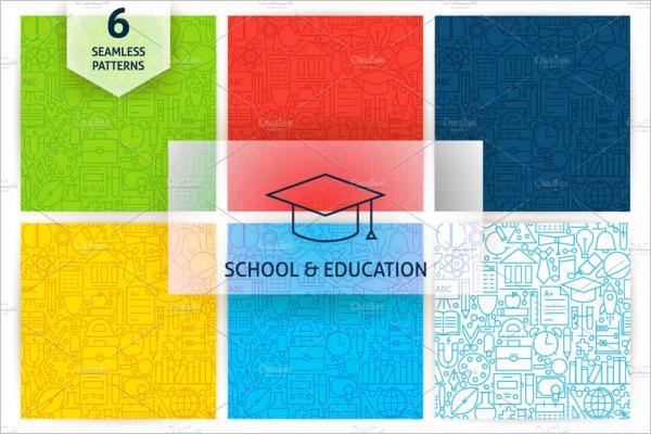School& Education poster