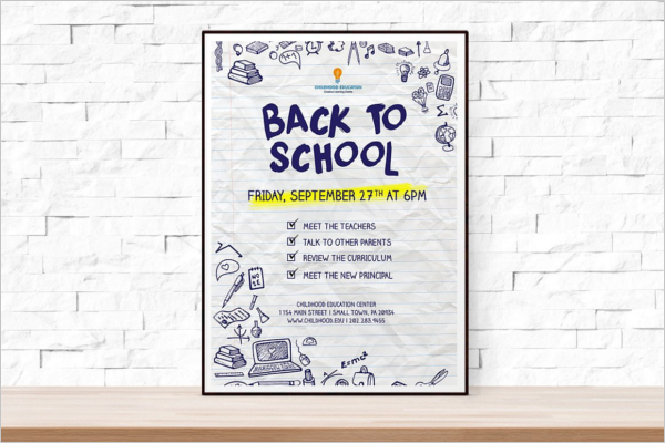 School Event Poster Template