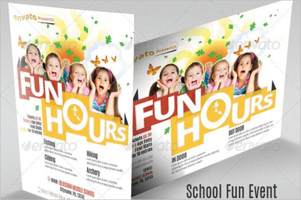 School Fun Event Flyer