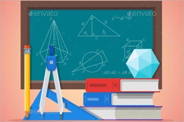 School-Geomentry-Tools-Poster