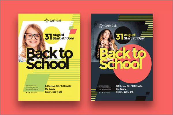 School Poster Design Idea