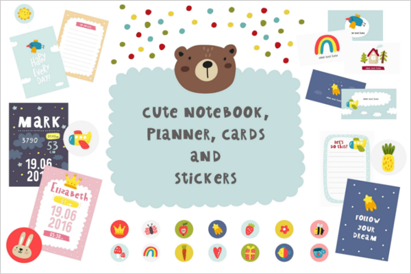 School Poster Planet Note Book