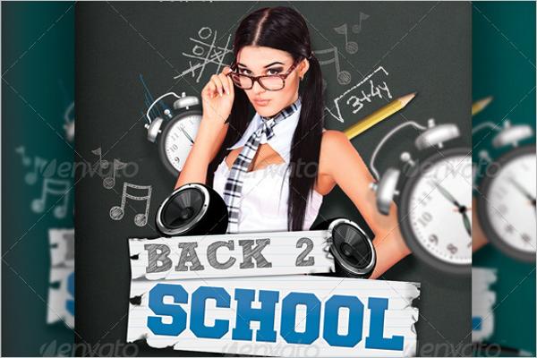 School Poster Template Model