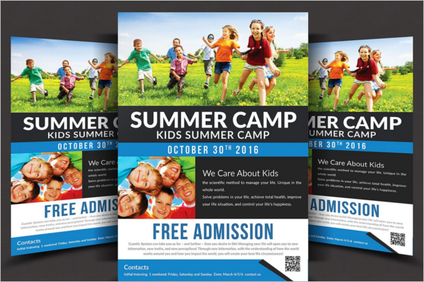 School Time Summer Flyer