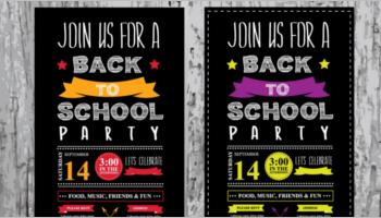 School poster designs