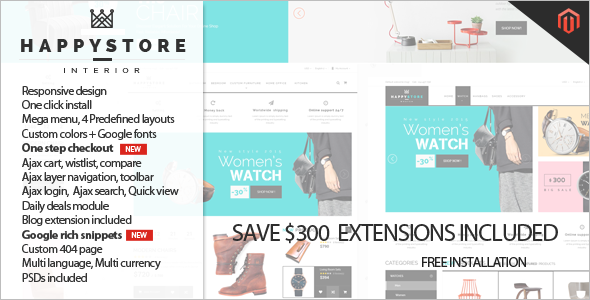 Security E-commerce Magento Template