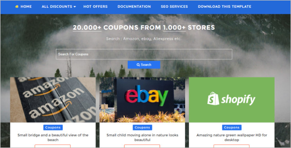 Responsive free blog templates free premium themes for Shopping cart template for blogger