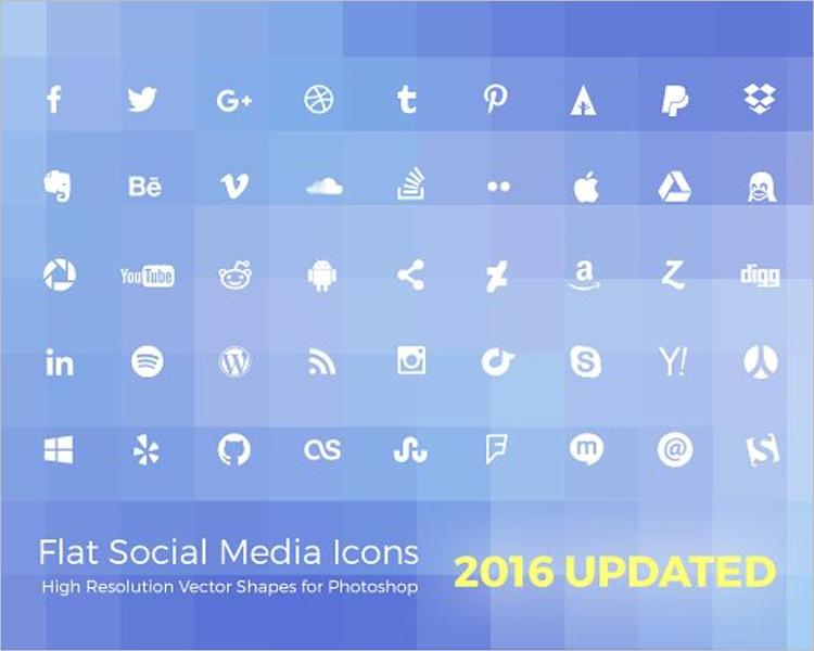 Simple Social Media Website Template