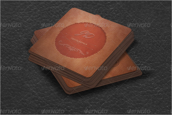 Small Elegant Business Card Design