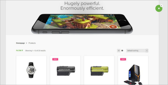 Smart Mobile WooCommerce Theme