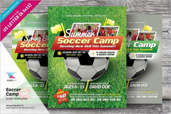 Football Flyer Templates Free Premium Templates – Soccer Flyer Template