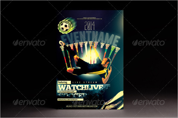 Soccer Flyer Word Template