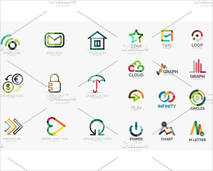 Social Web Icons Template
