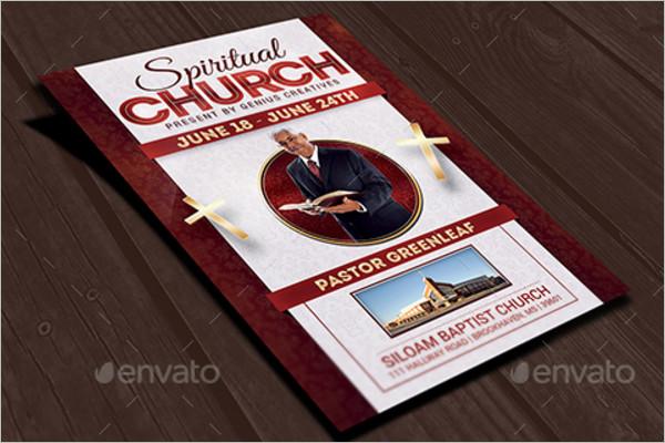 Spiritual Church Flyer Template